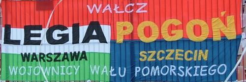 Legia - Pogoń - Wałcz - Wojownicy Wału Pomorskiego