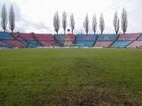 Stadion widziany z bramki