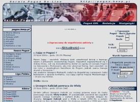 Strona z 2001 roku